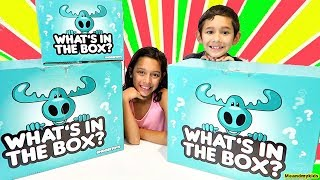 What's in the box !! Surprise new toy's