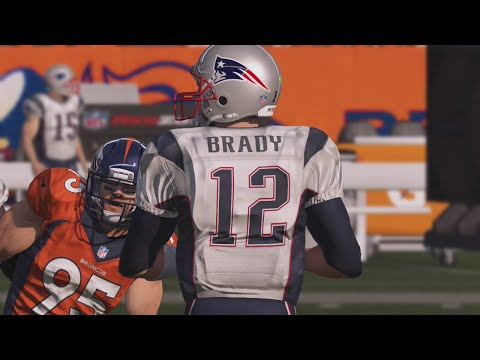 Madden 15 Online Gameplay EPIC COMEBACK OF THE YEAR TOM BRADY VS PEYTON MANNING