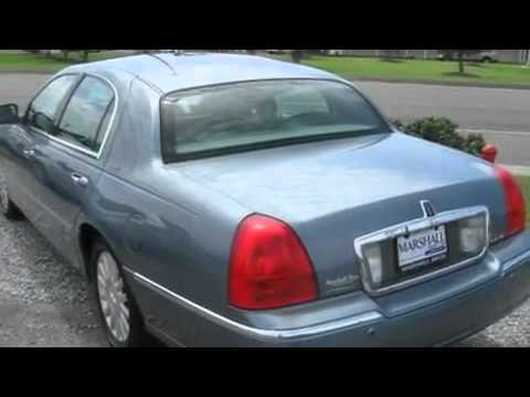 2003 Lincoln Town Car. Pre-Owned 2003 LINCOLN TOWN