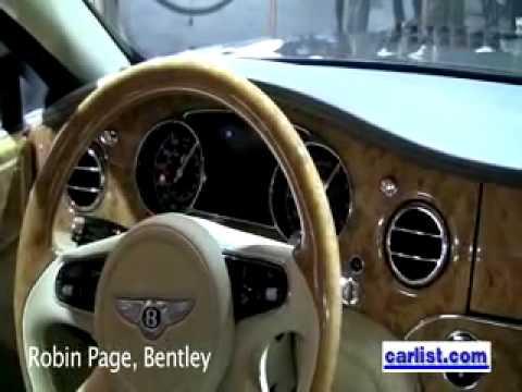 Robin Page  Bentley head of Q A Robin Page Head Interior Desiger Bentley