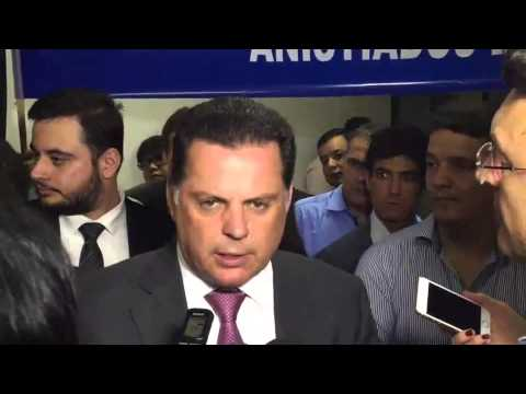 "Entrevista exclusiva do governador Marconi Perillo (PSDB) prêmio ""Político do ano"""