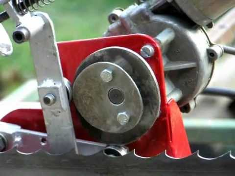 homemade bandsaw blade sharpener 2. version.
