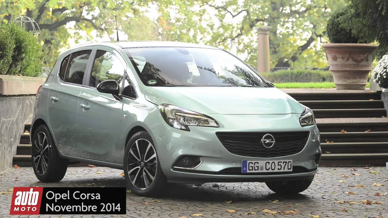 nouvelle opel corsa 2015 essai complet youtube. Black Bedroom Furniture Sets. Home Design Ideas