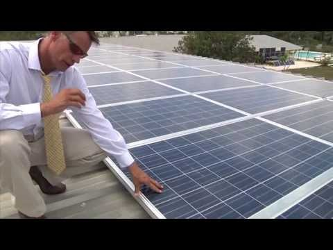 NEWS: Solar Instillation At Tambearly School - Nassau, Bahamas