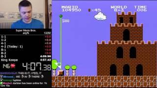 Жесть! Самое быстрое прохождение Марио!