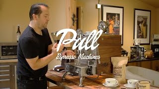 Pull Espresso Machines - How to Make a Shot