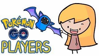 5 types of pokemon go players