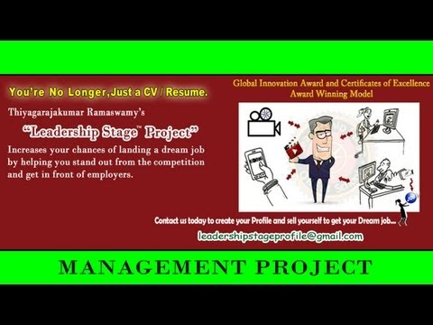 Leadership Stage (E to DE) System Project -Management Accounting Project Presentation