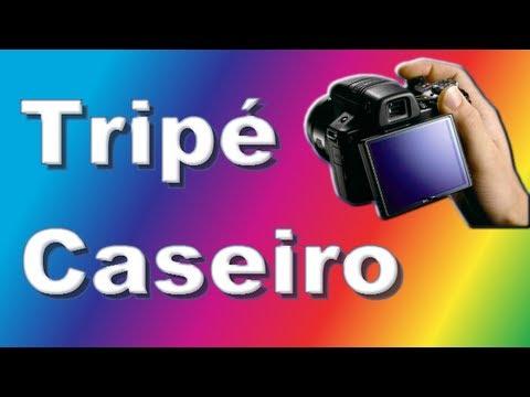 Tripé caseiro para câmeras e filmadoras digitais, 100% PVC