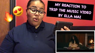 My Reaction To Trip Music Video By Ella Mai