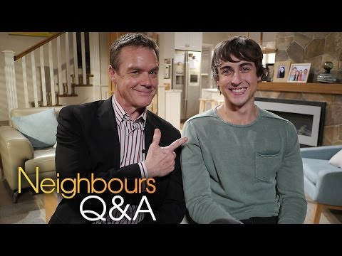 Neighbours Q&A: Stefan Dennis (Paul) & Taylor Glockner (Mason) Part 1