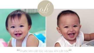 CÁCH CẮT TÓC BÉ 12 THÁNG TUỔI | HOW TO HAIRCUT BABY