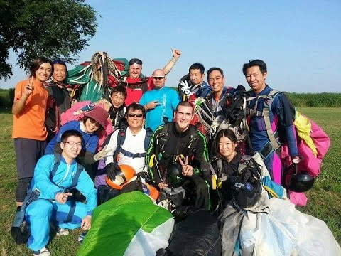 Welcome 8Way@Skydive Fujioka Japan!