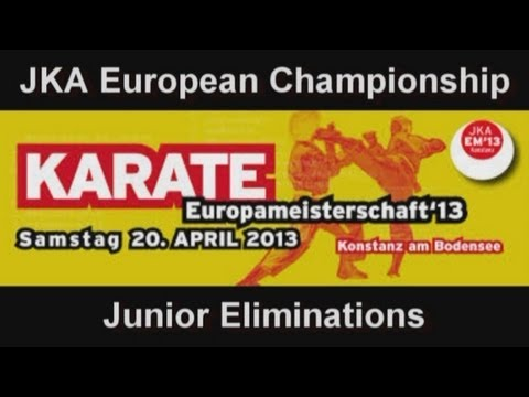 2013 JKA European Championship - Junior Eliminations