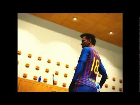 Fichaje Neymar Santos FC Barcelona - PES 2012