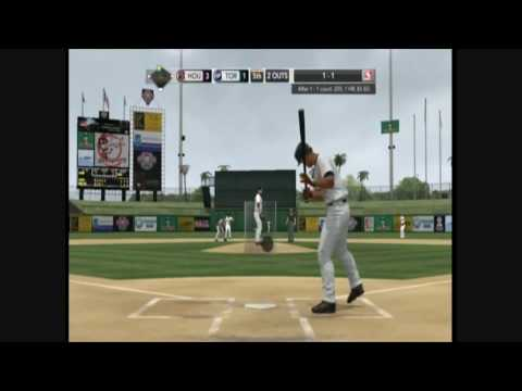 MLB 2k10 Astros vs Blue Jays Highlights Video