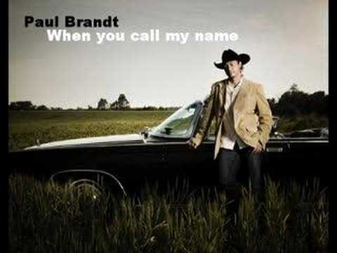 Paul Brandt - When You Call My Name