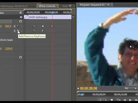 Panning and Zooming in Premiere Pro CS5