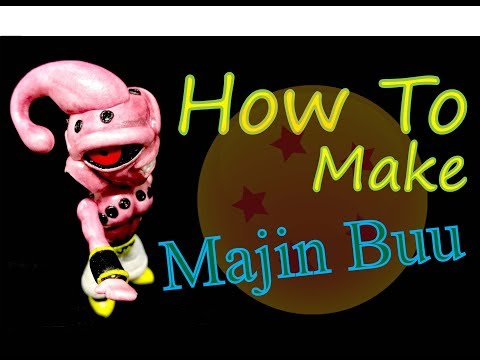 How to make Majin Buu Kid (Dragon Ball)
