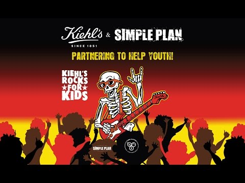 Kiehl's Rock For Kids With Simple Plan video