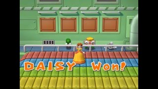 Mario Party 7 minigame: Track & Yield 60fps