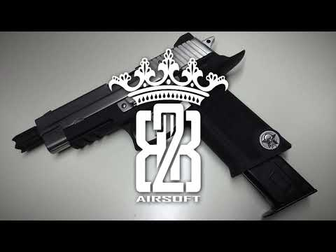 *Airsoft* WE-Tech P-Virus Sig Sauer P226 - Full Review of the WE P-Virus