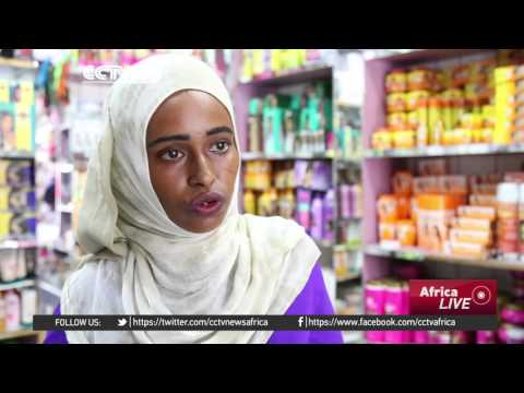 Women in Somalia playing an important role in state building.