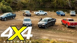 8-Way Ute comparison | New Hilux vs the Rest | 4X4 Australia
