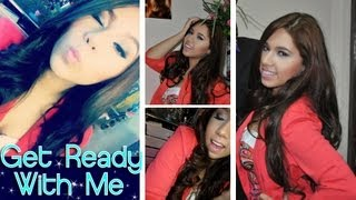 Get Ready With Me!! Makeup Hair and Outfit