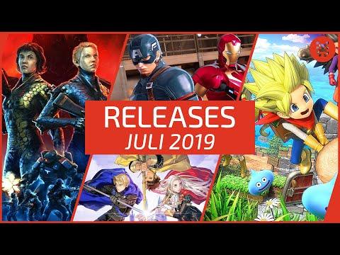 Neue SPIELE im JULI 2019 - für PS4, Xbox One, Nintendo Switch & PC │RELEASES frisch aufgetischt