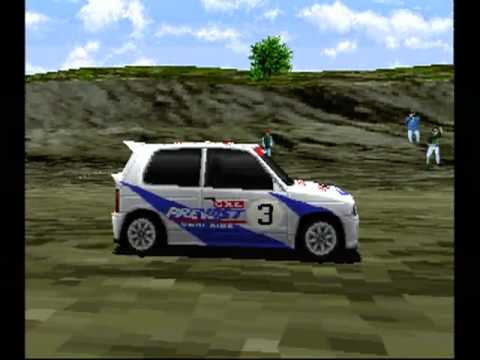 Ps1 Racing Games Japanese an Obscure Ps1 Racing Game