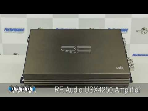 RE Audio US X4250 Amplifier Review