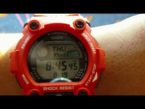 G-Shock  Rescue Red (G-7900A) Review