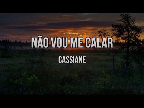 Não Vou Me Calar - Cassiane(Playback E Legendado)