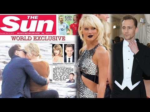 Taylor Swift Caught MAKING OUT With Tom Hiddleston On The Beach!