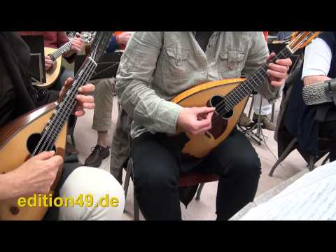 Sounds of Silence Mandolin Orchestra Zupforchester Ettlingen Paul Simon Cover