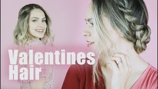 Valentines Day Hairstyles for Long and Short Hair!! - KayleyMelissa