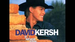 Watch David Kersh The Faster I Go video
