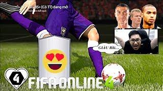 FIFA ONLINE 4: I Love Mở Thẻ Kiếm Tiền Để BUILD TEAM Sau 2 TUẦN Nhịn THẺ & Cái Kết...