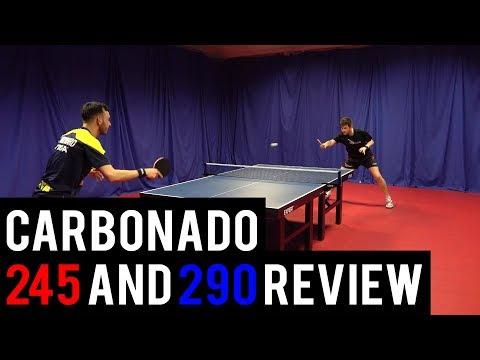 STIGA Carbonado 245 and 290 blade review