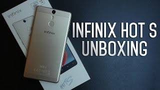 Infinix HOT S X521 Unboxing and first impression - فتح صندوق إنفينكس هوت أس