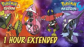 Tapu Guardian Deity Battle - 1 HOUR - Pokémon Sun & Moon OST