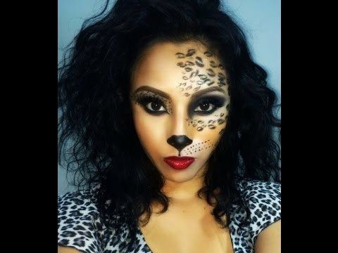 Sexy Cat Makeup For Halloween Sexy Cat/Leopard/Cheet...
