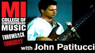 John Patitucci - Musicians Institute(MI)が1980年代中盤に行われたベース・クリニックの48分の映像を公開 ギターはFrank Gambale thm Music info Clip
