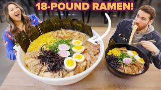 I Challenged My Friend To Eat An 18½-Pound Bowl Of Ramen • Giant Food Time