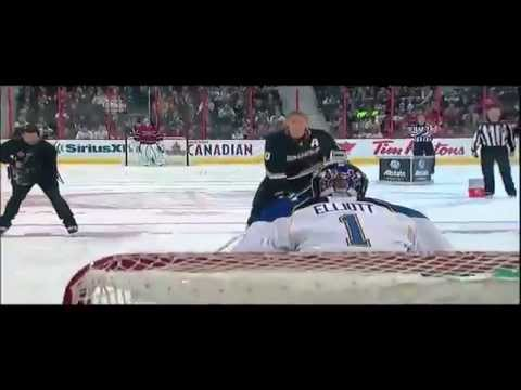 Corey Perry at the NHL All-Star Skills Competition Breakaway Challenge