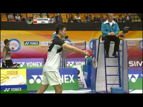 QF - MD - Cai Y./Fu H. vs M.Ahsan/H.Setiawan - 2012 Yonex-Sunrise Hong Kong Open