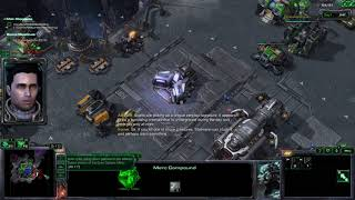 StarCraft 2: Wings of Liberty 3 Player Campaign - 06 Outbreak