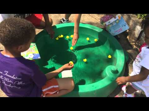 Outdoor birthday games for small kids
