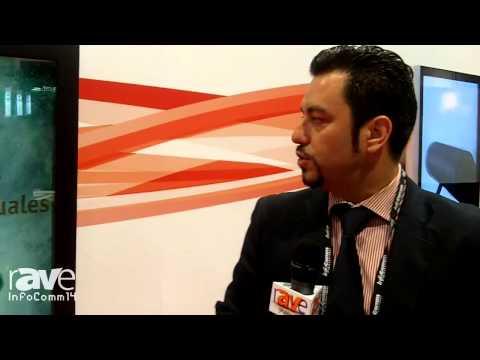 InfoComm 2014: Crambo Latinoamerica Exhibits Digital Lightbox Transparent LCD Box